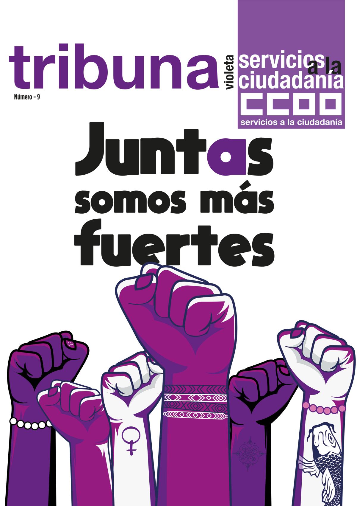 TRIBUNA VIOLETA Nº9: JUNTAS SOMOS MÁS FUERTES